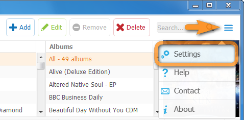 copytrans manager settings to restore ipod library