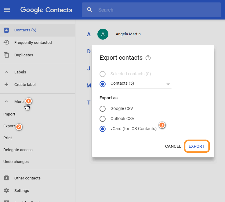 Google Contacts: How To Transfer Google Contacts To IPhone
