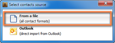 import windows contacts to iphone from file selection