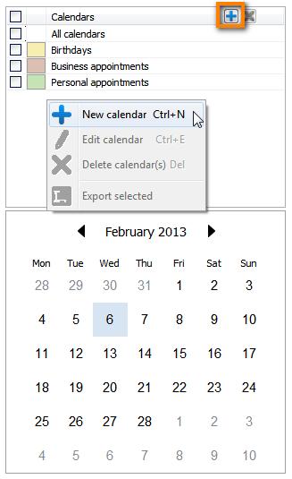 add new iphone calendar