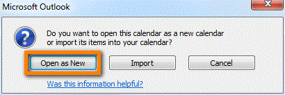 how to add iphone calendar to outlook