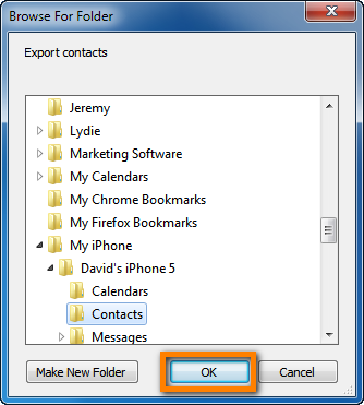export exchange contacts