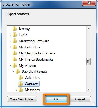 export exchange contacts