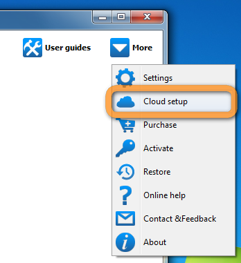 connect icloud account in copytrans contacts