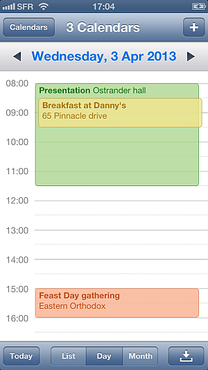 edit iphone calendar events via drag drop