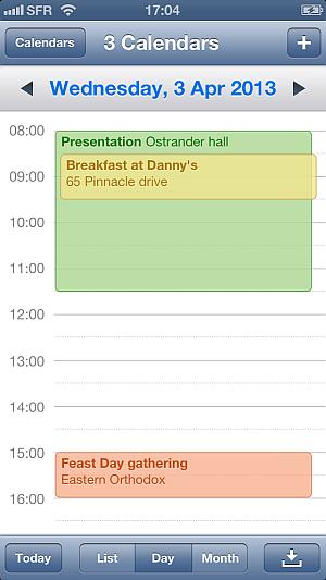 edit iphone calendar events via drag drop