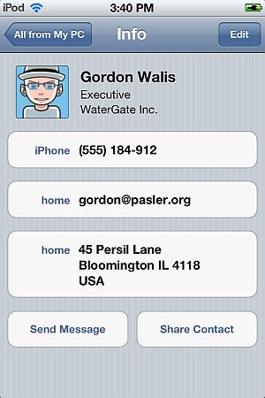 clean iphone numbers