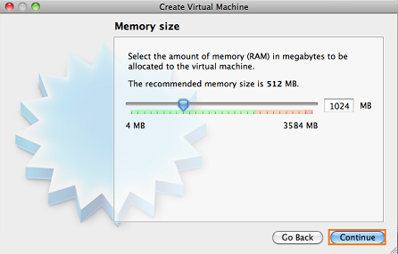 allocate virtual machine memory