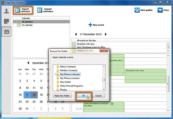 Sync iPhone calendar to Outlook