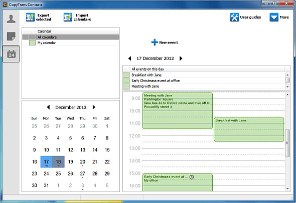iPhone calendar sync to Outlook