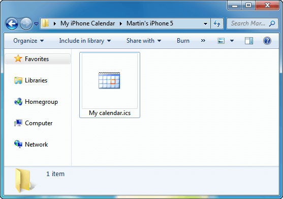 How to import calendar to Outlook