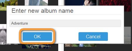 name new iphone album