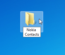 create new pc folder on the desktop