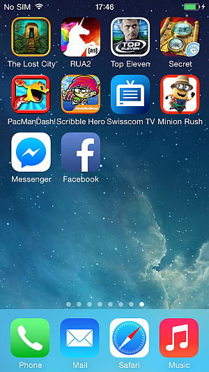 newly added apps to iphone home screen
