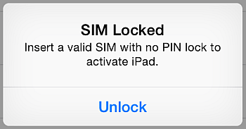unlock sim card prompt on iphone