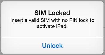 unlock sim card prompt on iphone