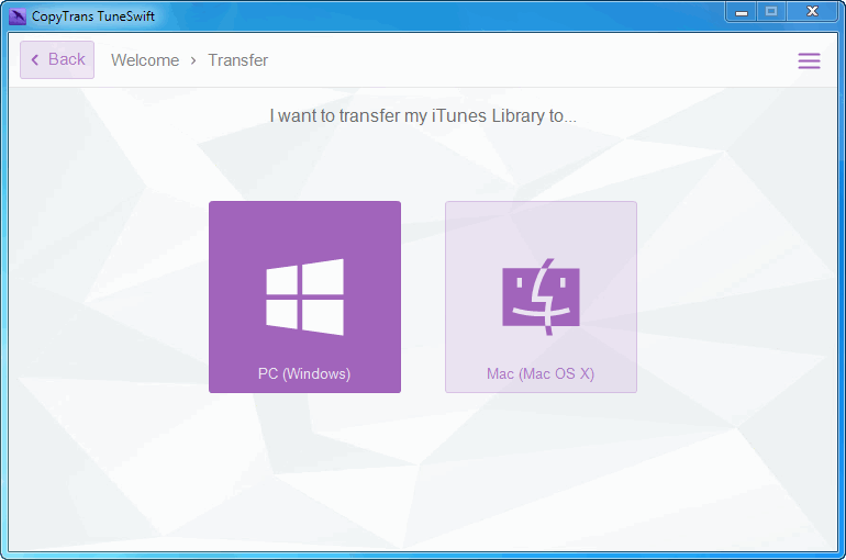 transfer itunes to external drive