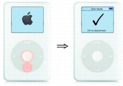 put ipod classic in disk mode