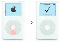 put ipod classic in disk mode