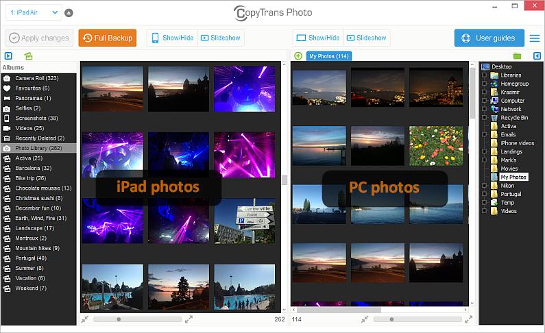 main copytrans photo window