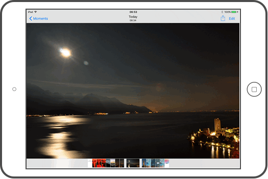 How to transfer photos from a DSLR camera to iPhone or iPad?