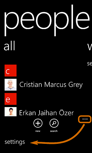 transfer data from windows phone to iphone