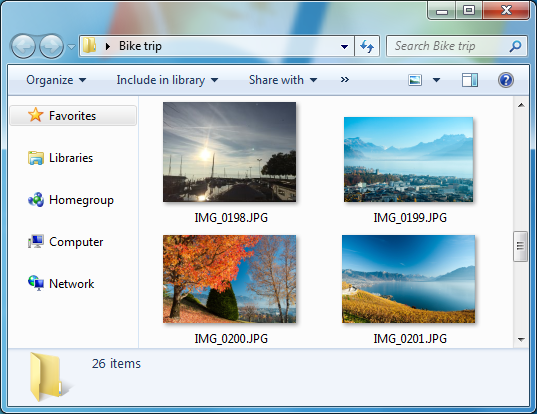 ipad album with photos on computer