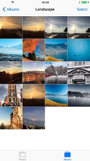 photos on iphone ios 9