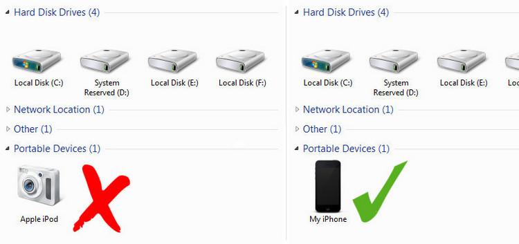 iphone under my computer