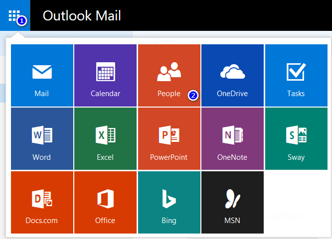 outlook.com contacts to iphone