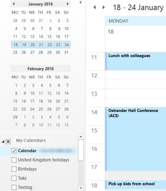 ync blackberry calendar to outlook to transfer to iphone