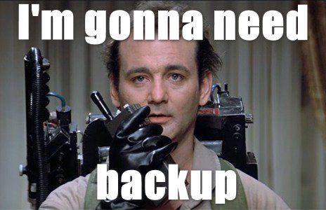 Bill Murray gonna need backup meme