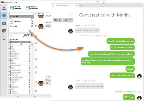 copytrans contacts crack conversations exported