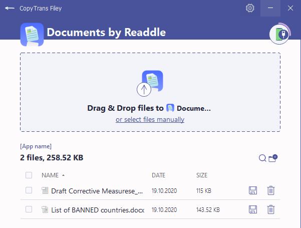 office documents on ipad