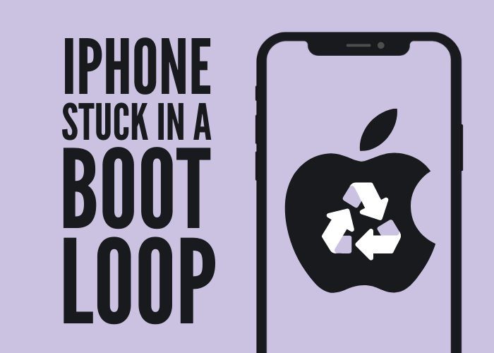 iPhone stuck in a boot loop