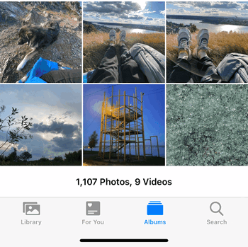Copy photos to Camera Roll