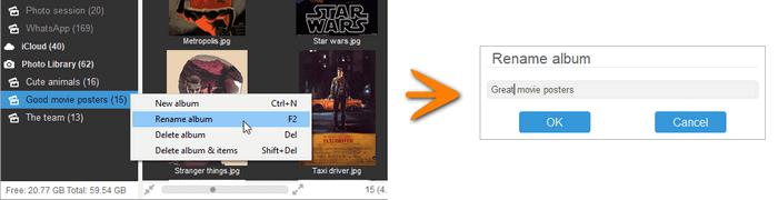 How to rename album on iPhone