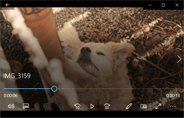 Playing iPhone video on Windows