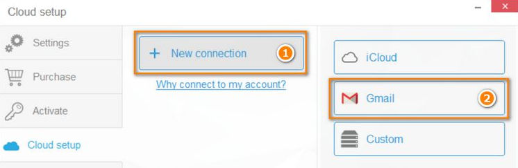 add gmail contacts account