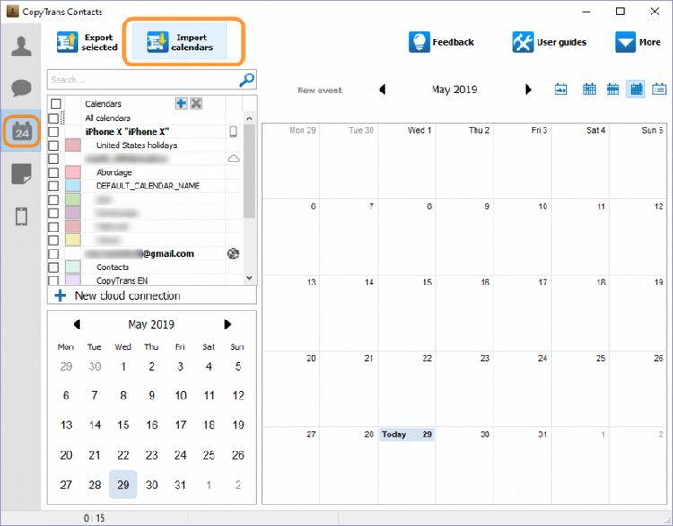 how to export outlook calendar