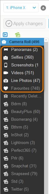 delete photos from native albums