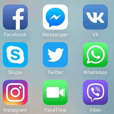 Open WhatsApp on your iPhone