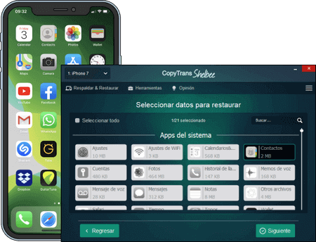 how to back up contacts iphone