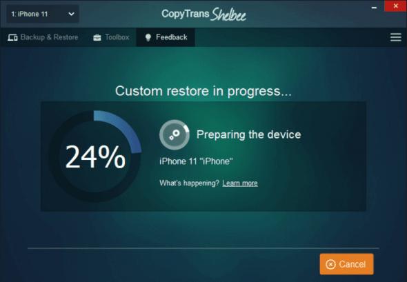 shelbee custom restore-