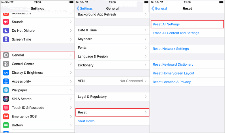 turn off iPhone backup password
