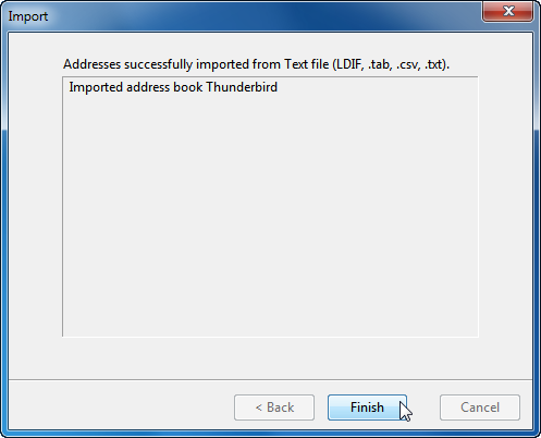 export iphone contacts to thunderbird