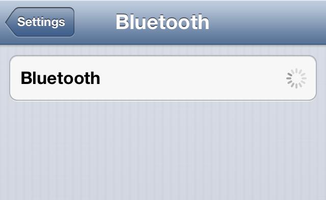 bluetooth defunc on iphone