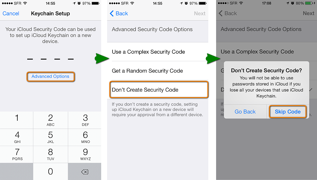 How to setup and use iCloud Keychain on iPhone or other iOS device ...