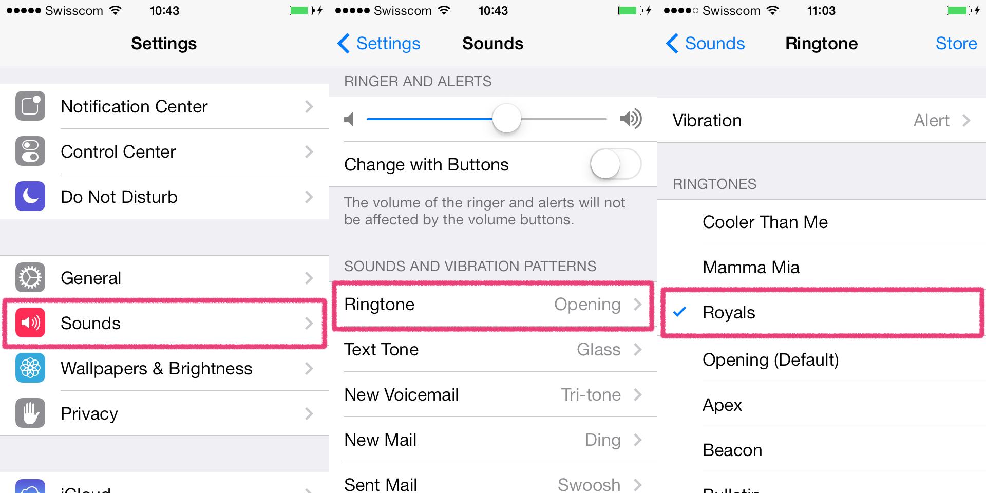 Itunes как сделать рингтон на iphone