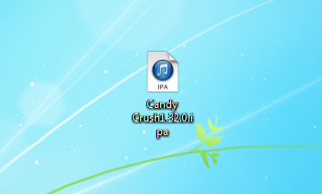 candy crush ipa file on pc desktop